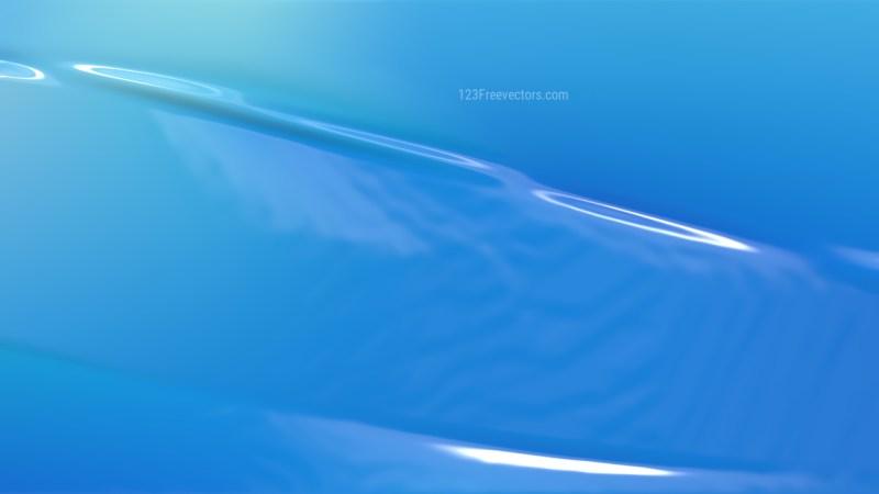 Blue Plastic Background