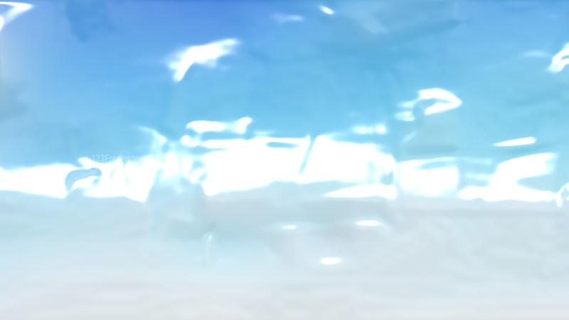 Blue and White Crinkled Plastic Background