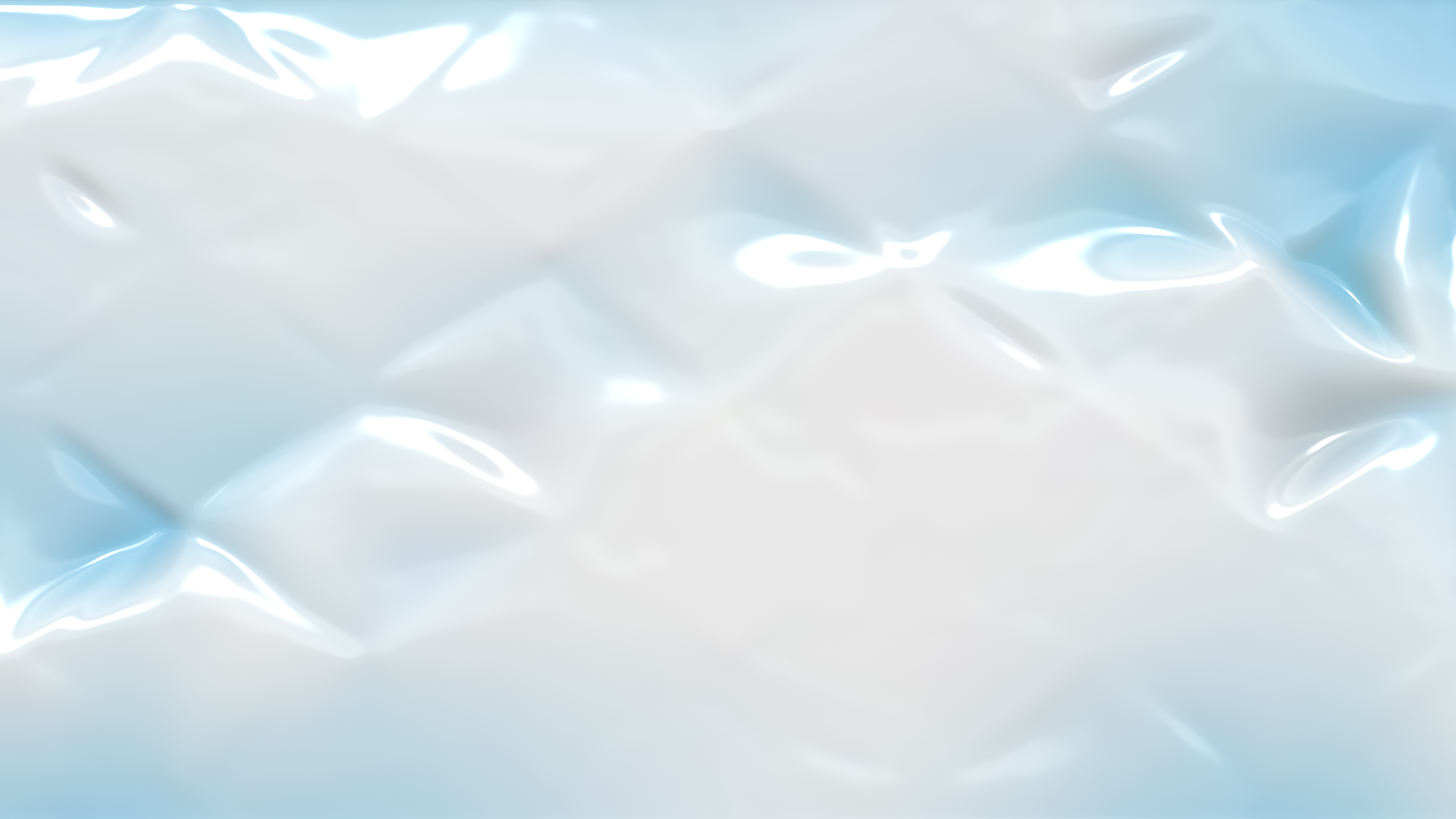 Blue and White Wrinkled Plastic Texture Background