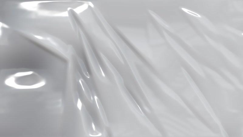 Bright Grey Plastic Foil Background
