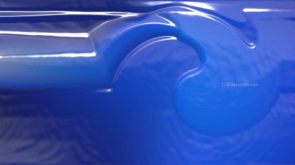 Cobalt Blue Crumpled Plastic Background