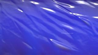 Cobalt Blue Wrinkled Plastic Texture