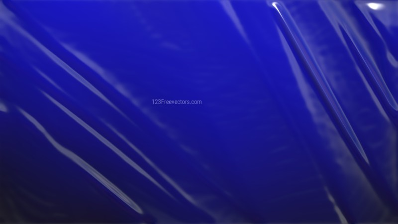 Cool Blue Plastic Foil Texture Background