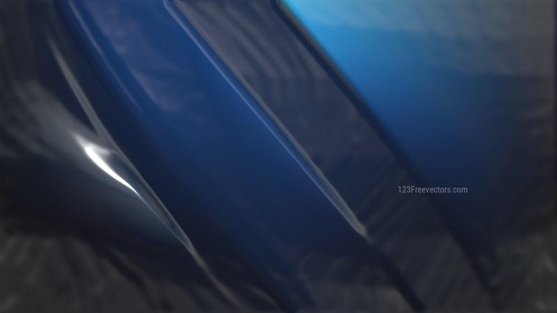 Cool Blue Plastic Wrap Texture Background
