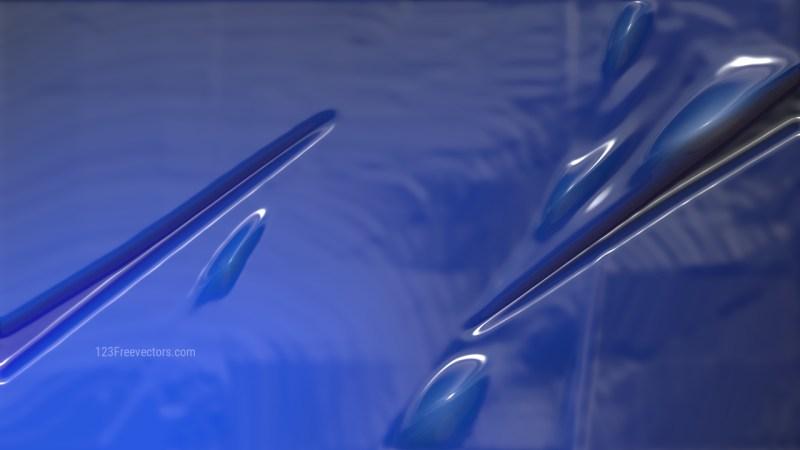 Dark Blue Plastic Texture
