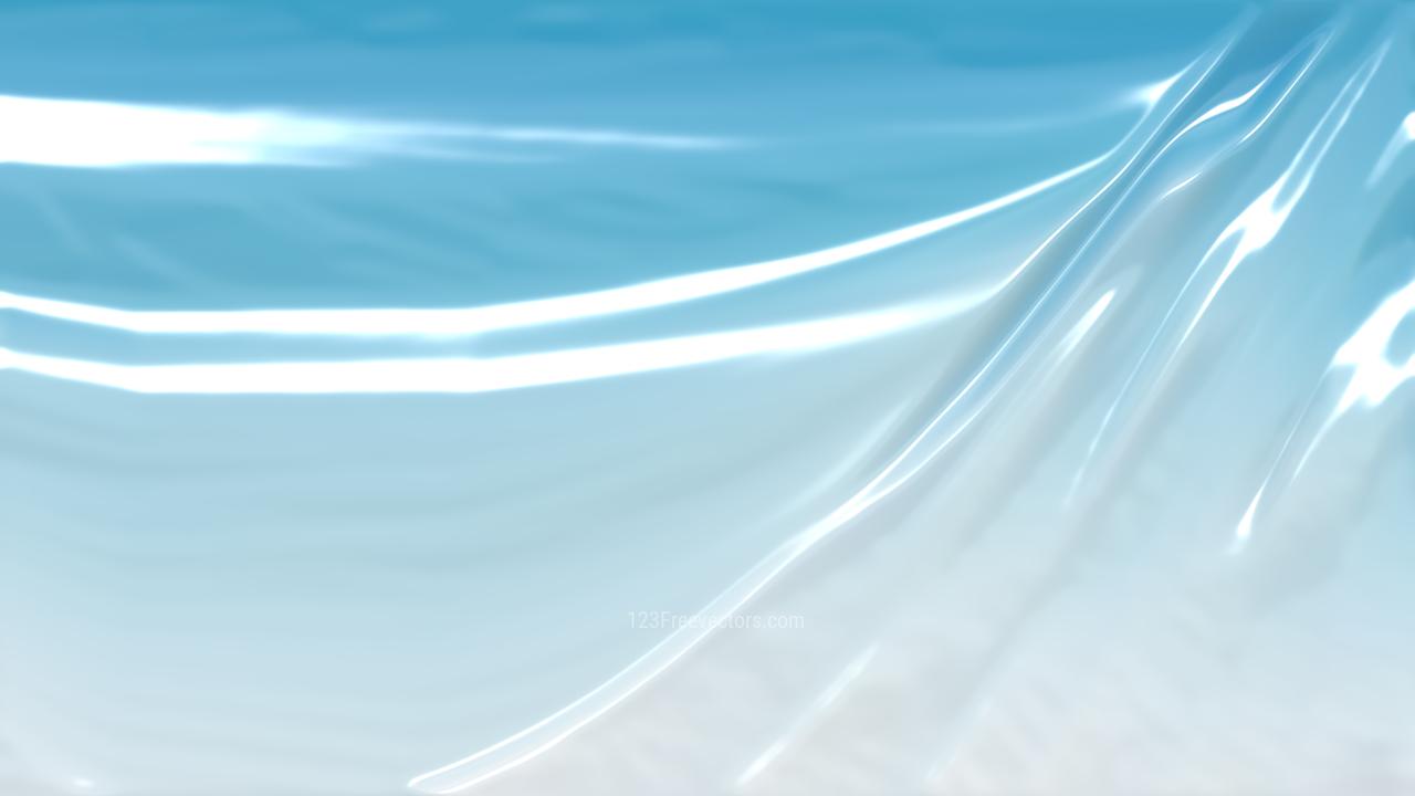 Light Blue Shiny Plastic Texture Background