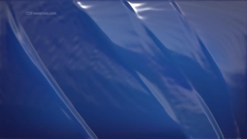 Navy Blue Shiny Plastic Background