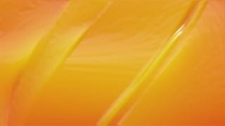 Orange Wrinkled Plastic Texture Background