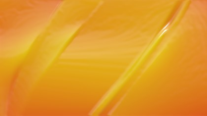 Orange Wrinkled Plastic Texture Background
