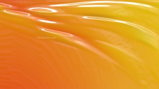 Orange Plastic Foil Texture Background