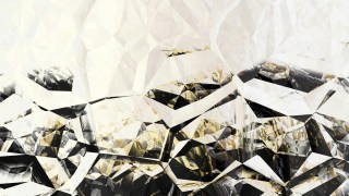 Black and Beige Abstract Crystal Background Image