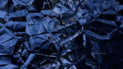 Abstract Black and Blue Crystal Background Image