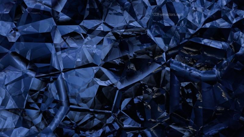 Black and Blue Crystal Background Image