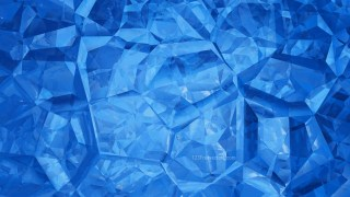 Blue Crystal Background Image