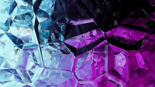 Blue and Purple Abstract Crystal Background Image