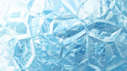 Blue and White Crystal Abstract background