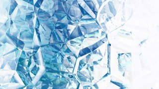 Blue and White Abstract Crystal Background Image