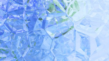 Abstract Blue and White Crystal Background