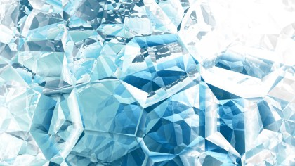 Blue and White Crystal Background