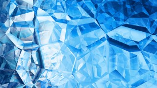 Blue and White Abstract Crystal Background
