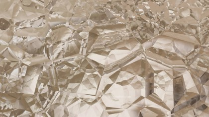 Abstract Brown Crystal Background