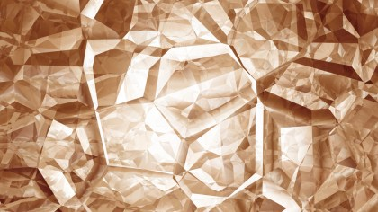Brown and White Crystal Background
