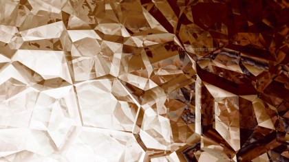 Brown and White Crystal Background Image