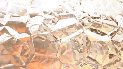 Brown and White Abstract Crystal Background