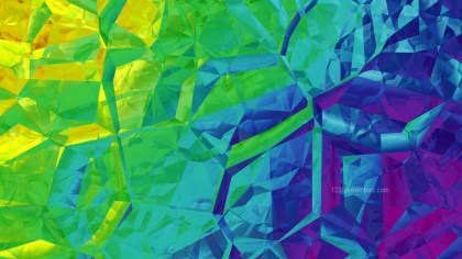 Abstract Colorful Crystal Background