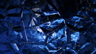 Cool Blue Crystal Background Image