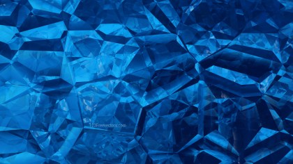 Cool Blue Crystal Background