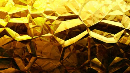 Cool Gold Crystal Background
