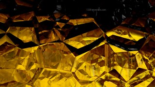 Cool Gold Crystal Abstract background