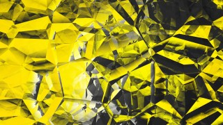 Abstract Cool Gold Crystal Background Image