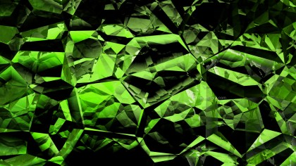 Cool Green Crystal Background