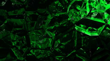 Cool Green Crystal Background Image