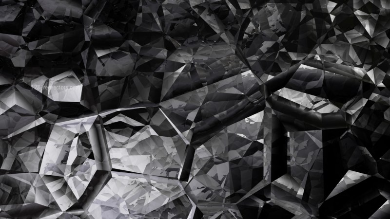 Abstract Cool Grey Crystal Background Image