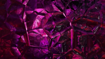 Abstract Cool Pink Crystal Background Image