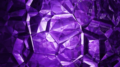Cool Purple Abstract Crystal Background Image