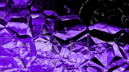 Cool Purple Crystal Background