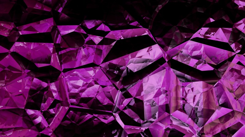 Cool Purple Crystal Background Image