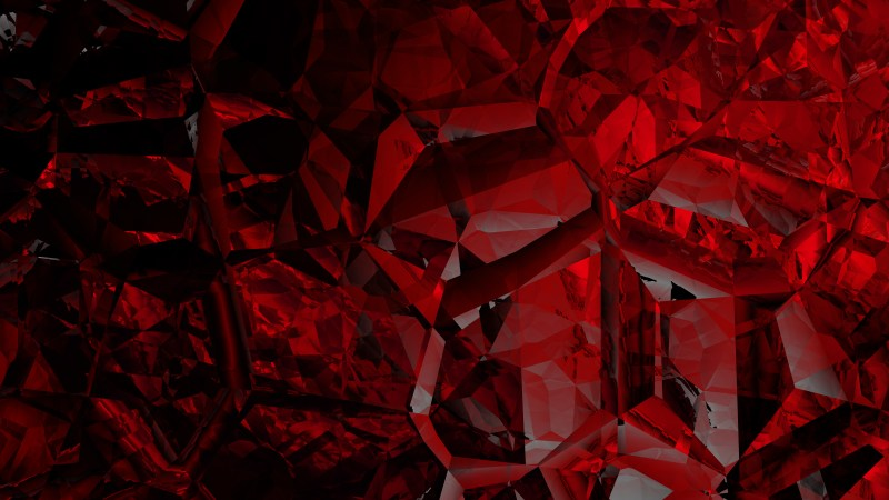 Cool Red Crystal Background