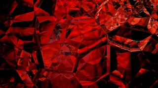 Abstract Cool Red Crystal Background