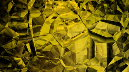 Cool Yellow Abstract Crystal Background Image