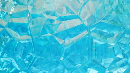 Cyan Abstract Crystal Background