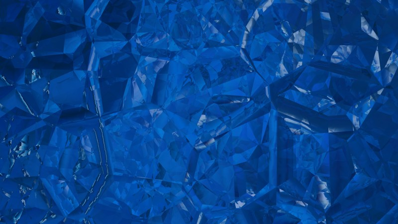Dark Blue Abstract Crystal Background Image