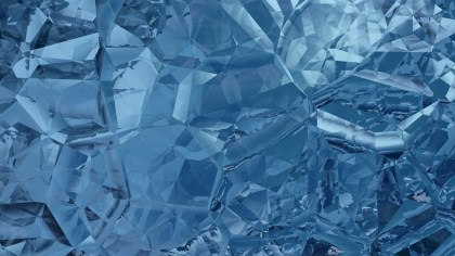 Dark Blue Abstract Crystal Background