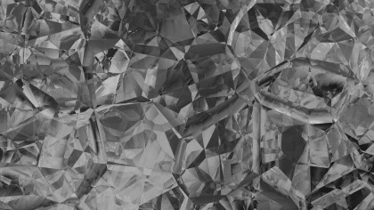 Dark Grey Abstract Crystal Background