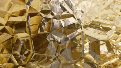 Dark Orange Crystal Abstract background