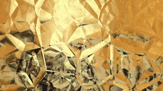 Gold Crystal Abstract background